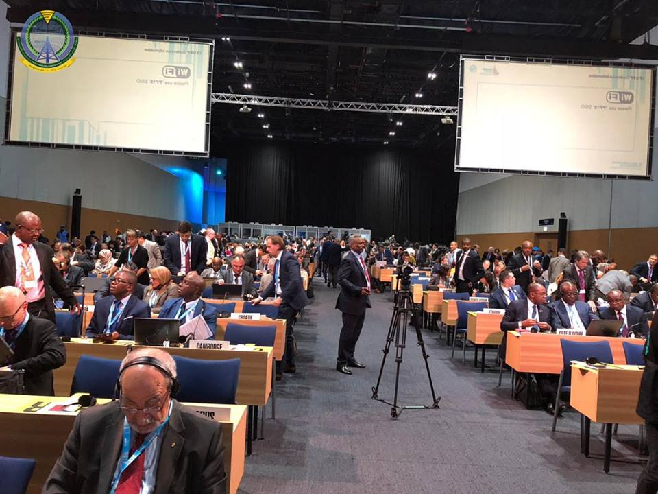 Participation in Plenipotentiary Conference of the Heads of the World Telecommunication Union Dubai 2018