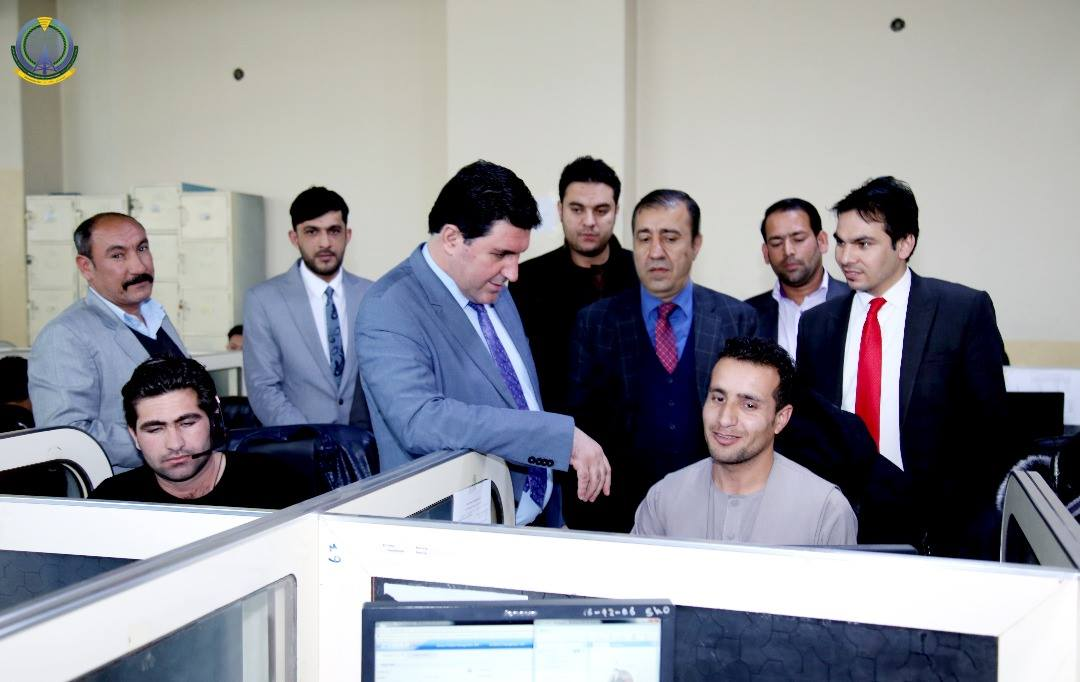 Minister of Communications and Information Technology visits the Call Center of Salaam Telecom Network