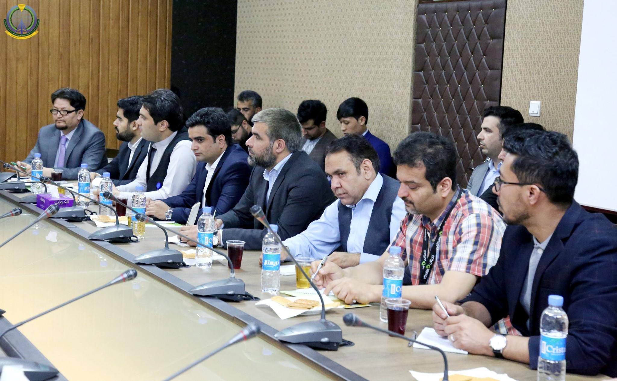 جلسه مشورتی با مسوولین شرکت های خدمات انترنیتی به خاطر کاهش قیمت انترنیت