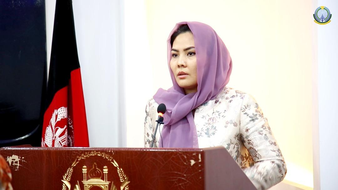 گرامی داشت از روز زن با حضور معصومه خاوری وزیر مخابرات و تکنالوژی معلوماتی