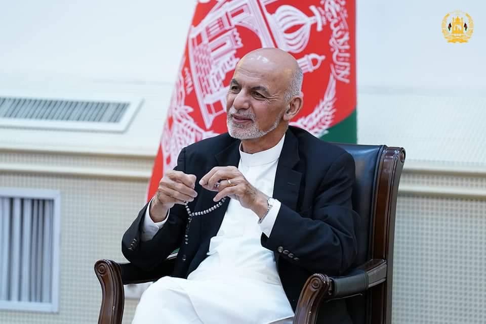 محمد اشرف غنی رئیس جمهور اسلامی افغانستان