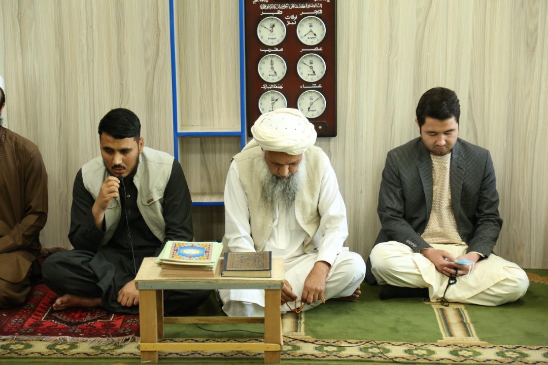 مراسم ختم قرآن و اتحاف دعا به روح شهدای حوادث اخیر