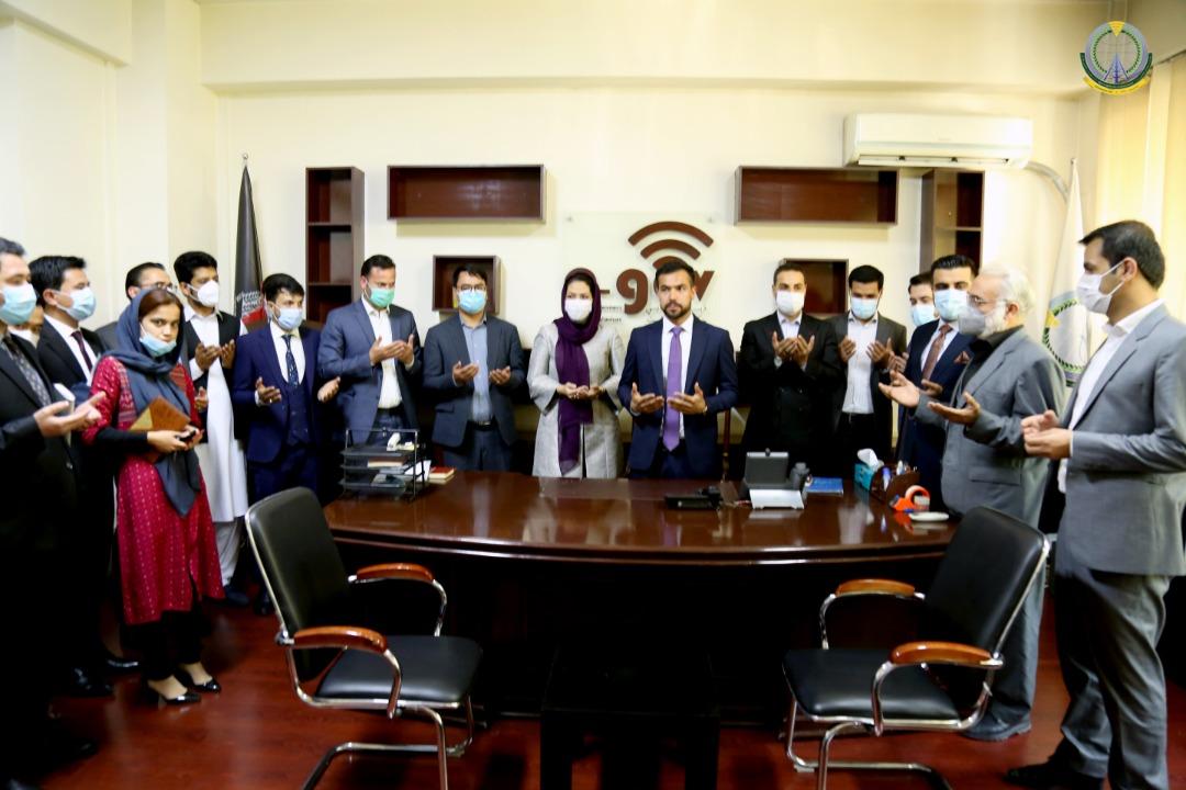 وزیر آرمین محمدی به حیث رییس عمومی ارشد دیجیتلی