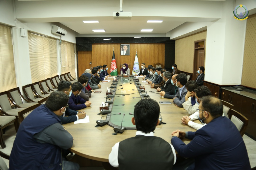 پنج تن از رییسان جدیدالتقرر وزارت مخابرات، رسماً به وظایف شان معرفی شدند