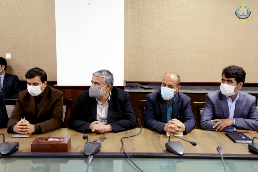 اشتراک کننده ها در مراسم معرفی پنج تن رییسان جدیدالتقرر