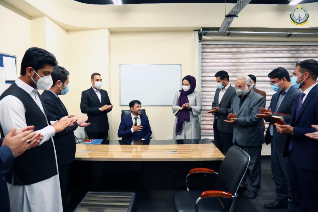 محمد مصطفی نایر به حیث رییس زیربناهای کلید عامه