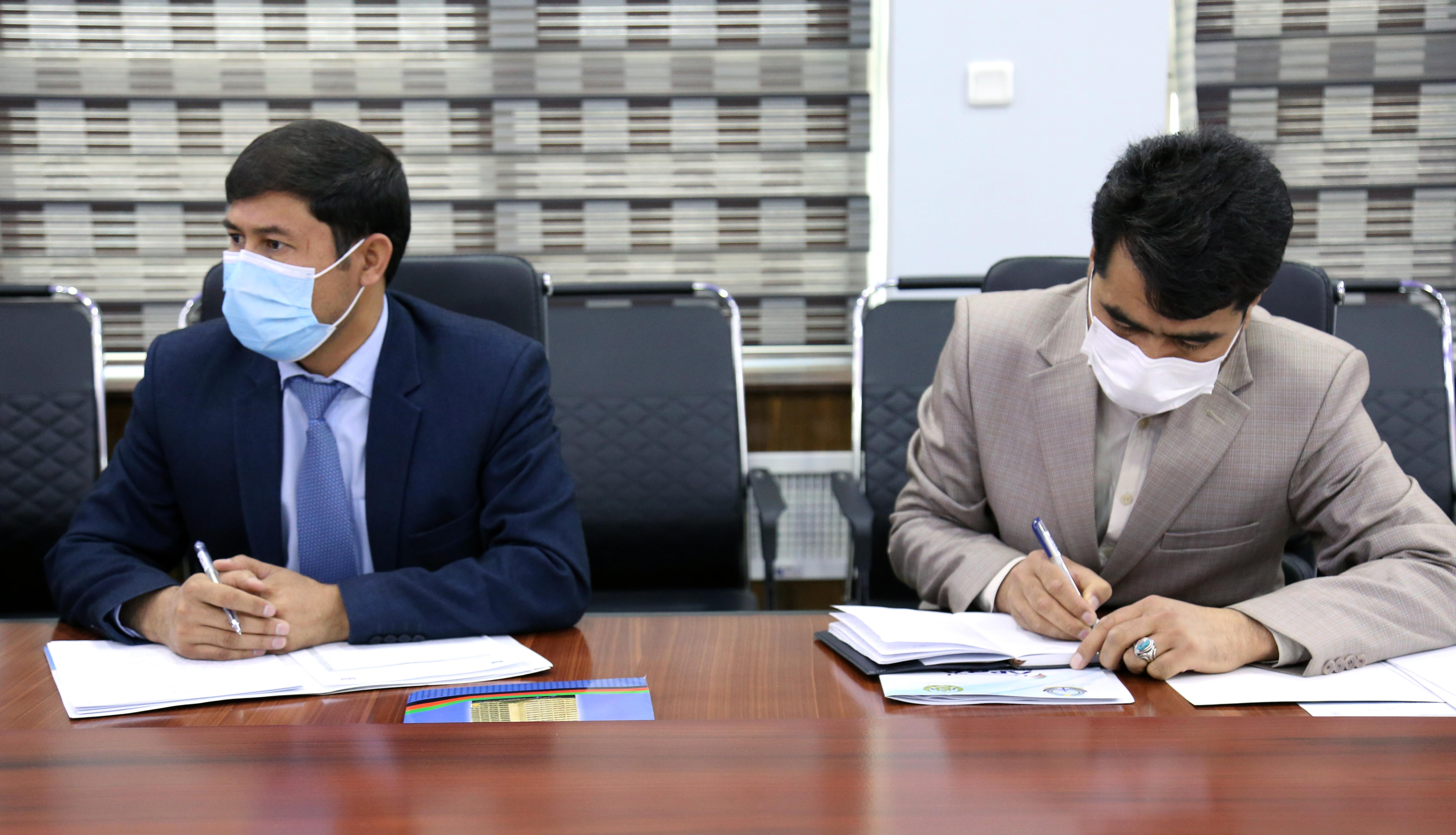 تصاویری جلسه هیئت رهبری وزارت مخابرات و تکنالوژی معلوماتی ۲۷ جوزای ۱۴۰۰
