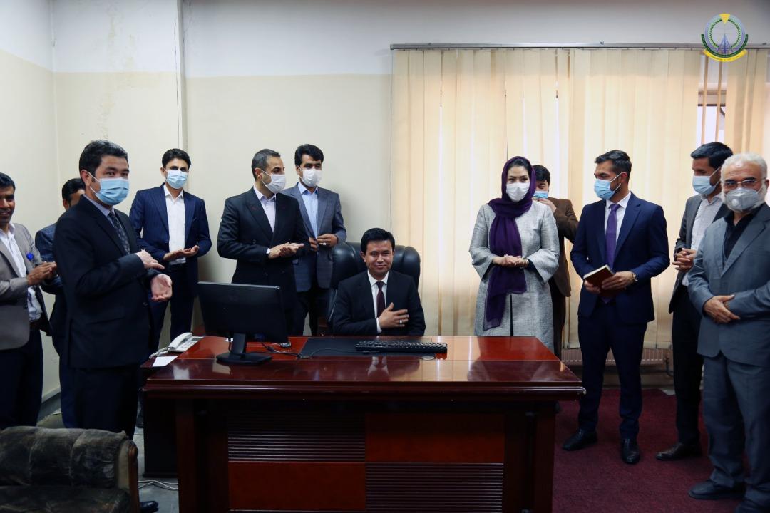 عبدالرشید احمدی به حیث رییس تنظیم خدمات پستی افغانستان (اپرا)