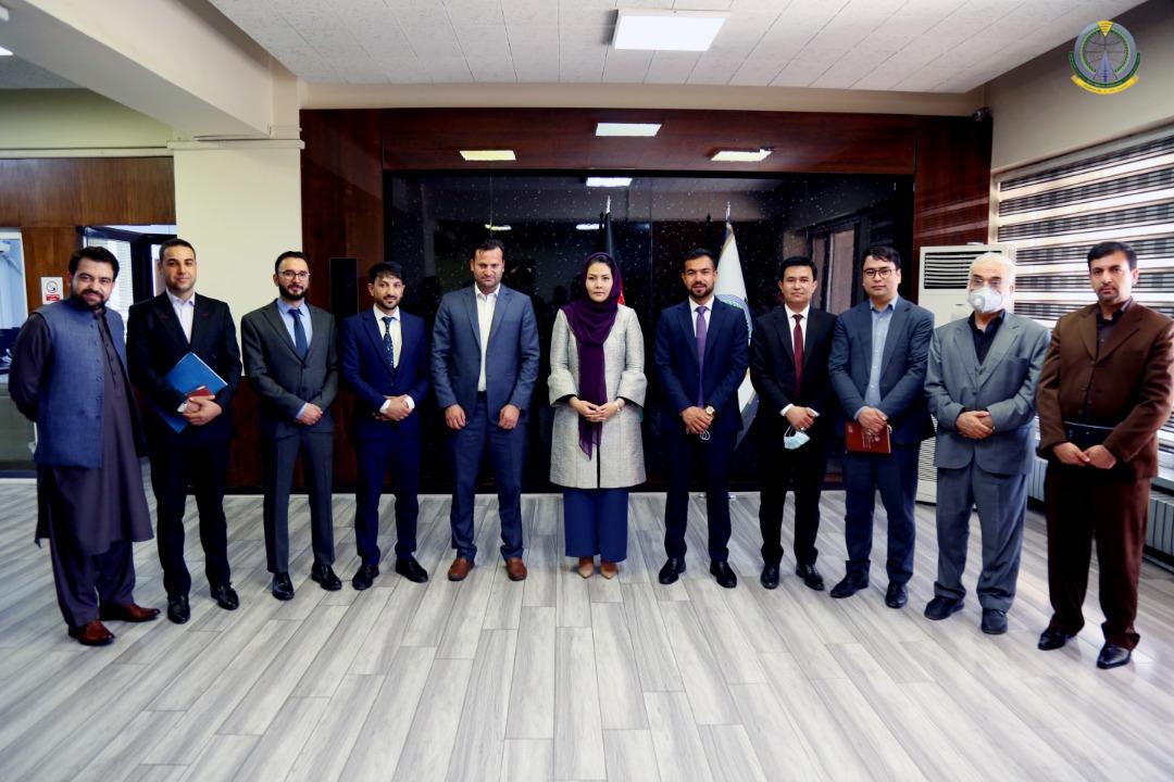 پنج تن از رییسان جدیدالتقرر وزارت مخابرات، رسما به وظایف شان معرفی شدند