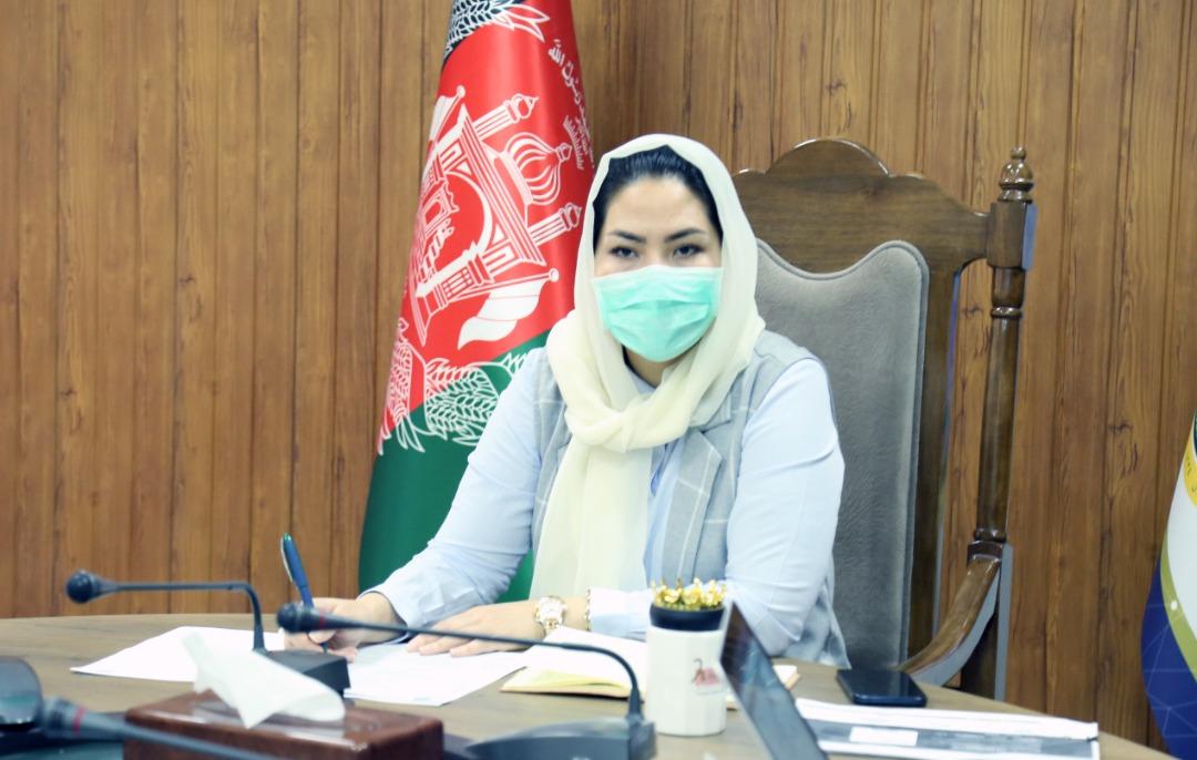 معصومه خاوری، وزیر مخابرات و تکنالوژی معلوماتی