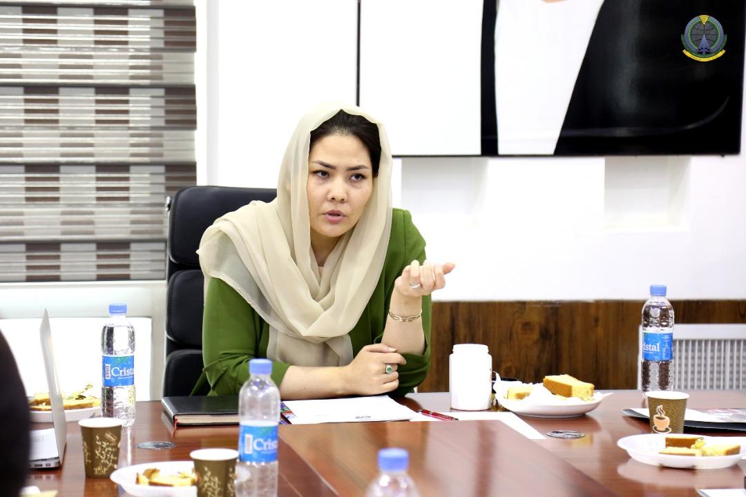 معصومه خاوری وزیر مخابرات و تکنالوژی معلواتی